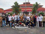 Bupati Lepas 12 Atlet dan Pe;atih Asal Tanah Datar Menju PON Papua